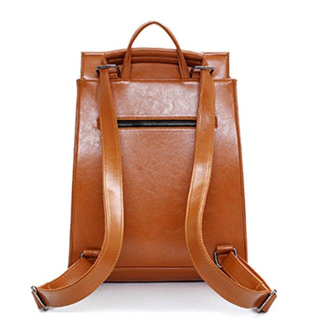 Online Shop 2016 Design PU Leather Backpack Women Backpacks For ...