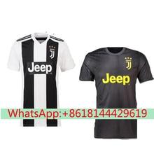 c48f36decdd best quality Serie A patch kit Juventuses RONALDO DYBALA 2018 2019 HIGUAIN soccer  jersey football 2018