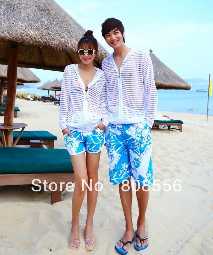 Free shipping 2014 fashion lovers beach shorts couple imeni