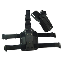 Tactical Hunting Airsoft Belt Leg Holster Adjustable Right & Left Hande Gun Holster For GL 17 19,Colt 1911, M9