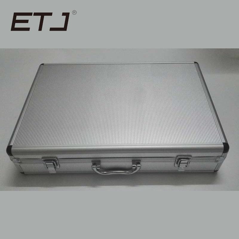 Free shipping Aluminum case for SLX24 SLX14 PGX24 PGX14 wireless microphone Aluminum box