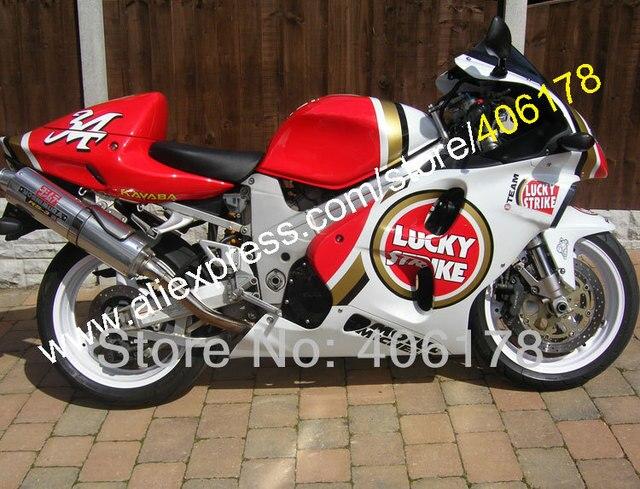 Hot Sales Lucky Strike Fairing For Suzuki Tl1000r 1998 1999 2000