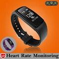 Nadar música controle smart watch relógio monitor de freqüência cardíaca smartwatch para android ios telefone gps trajetória de fitness relógio à prova d' água
