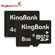 Kingbank tf карта 4 г 8 ГБ карты класса 6 карт памяти trans flash карты