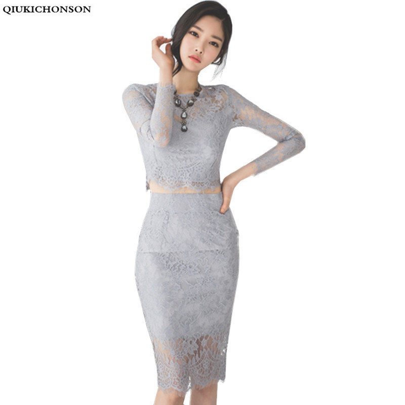 Sexy crochet ժանյակավոր զգեստով կանանց - Կանացի հագուստ - Լուսանկար 1