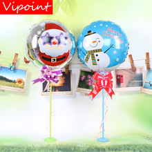 VIPOINT PARTY 18inch snowman trees Santa Claus foil balloons wedding event christmas halloween festival birthday party HY-280
