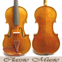 Copy of a 19th Century French Violin . Amati Model. Top Handmade antique Oil Varnish, No.1401.Great setup