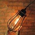 Industrial Vintage Edison Bulb LED Light Base 40W Retro Pendant Lamp Holder Home Restaurant Decor Lighting Fixtures 110-220V
