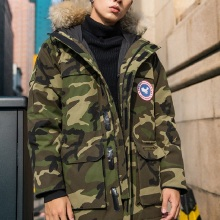 NO.1 DARA 2018 brand clothing jackets thick keep warm men is down jacket high quality fur collar hooded down jacket winter coat