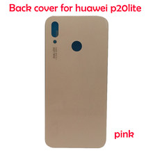 JPFix Back Battery Cover Glass For Huawei P20 lite ANE-LX1 LX3 L03 L23 Nova 3e Rear Housing With Adhensive sticker Replacement(China)