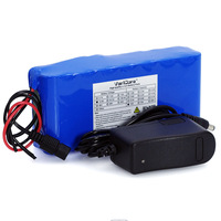 VariCore 14.8V 10Ah 18650 li ion battery pack night fishing lamp heater miner's lamp amplifier battery with BMS+16.8V Charger