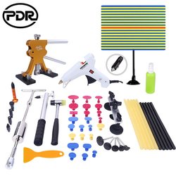 PDR инструменты для безболезненного ремонта вмятин инструменты для удаления вмятин Съемник Набор инструментов отражатель инструмент для уд...