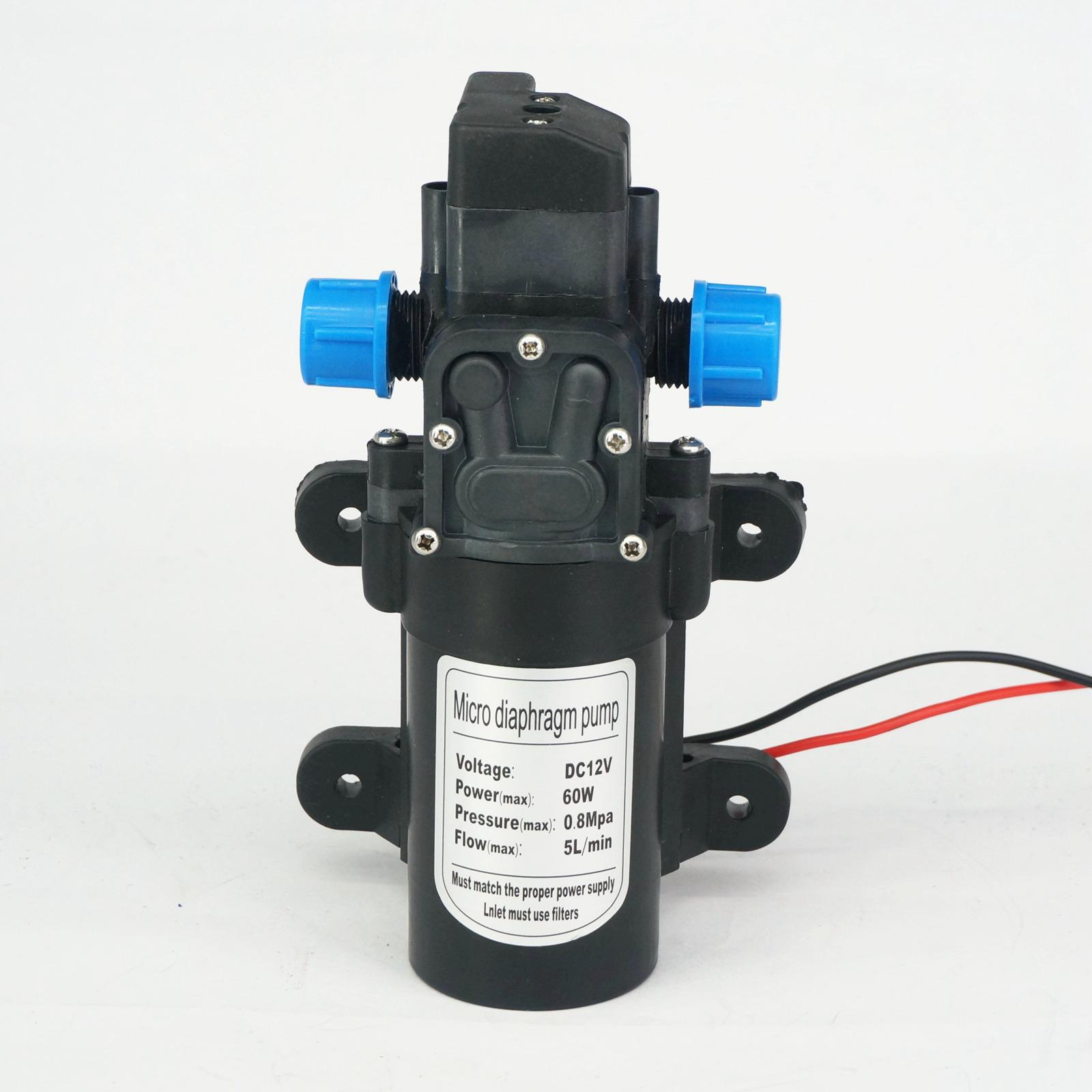 Aktiv Dc 12 V 60 Watt Micro Membran Wasserpumpe Selbstansaugende Druckerhöhungspumpe Automatische Schalter 300l/h Y2 Eine Hohe Bewunderung Gewinnen Pumpen