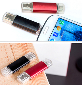 Promo Colorful OTG Pendrive 4gb 8gb 16gb USB2.0 Flash Drives 32gb Usb Memory Stick 64gb 128gb Usb Flash Drive For Android Phone/PC — slecraobtpm