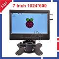7 дюймов 1024*600 HD TFT ЖК-Монитор Экран для Respberry Pi 3/2 Модель B/B +/PC