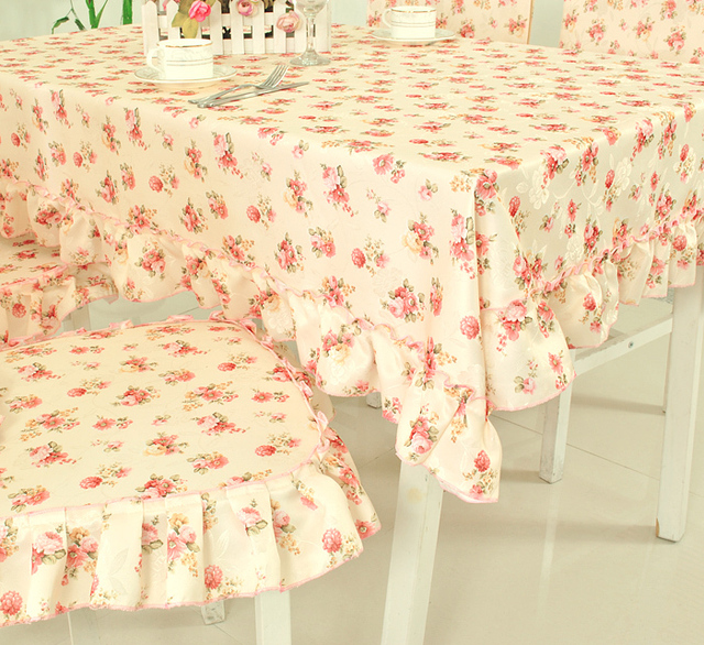 Rustic pink 3610 table cloth cushion back cover universal cover towel thickening type