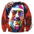 ALMOSUN Pablo Escobar Work of Art 3D All Over Print Tracksuits Sweatshirts Hip Hop Drawstring Pants Hipster Streetwear Men