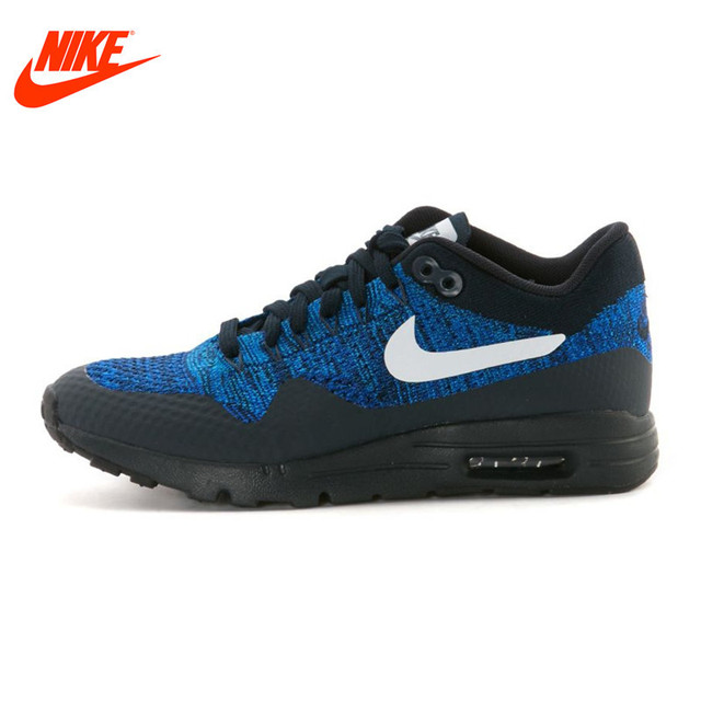 37cc32b8e8dac Authtentic NIKE Breathable W AIR MAX 1 ULTRA FLYKNIT Women s Running Shoes  Sneakers