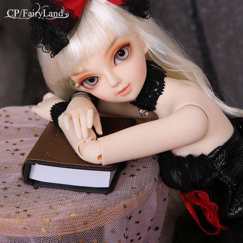 구체관절 인형 BJD 풀세트 Fairyland Minifee Rena 1/4 바디 모델  인형 눈 고품질 장난감 구체관절인형 우니 에프-에서인형부터 완구 & 취미 의  그룹 1