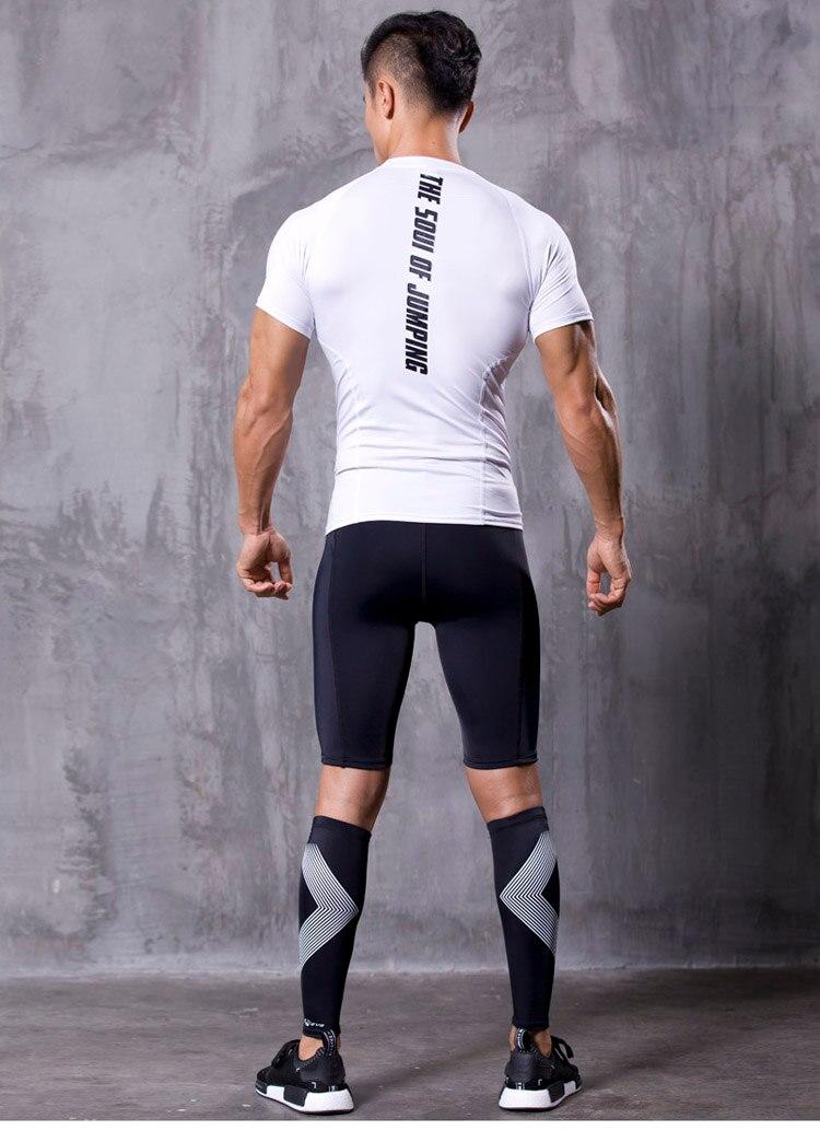 új Non-Stirrup kompressziós tréning lábbeli ujjú borjú - Sportruházat és sportolási kiegészítők - Fénykép 1