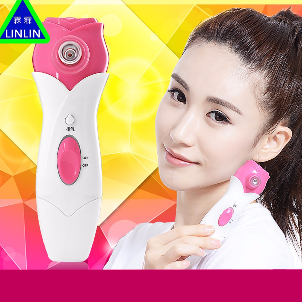 LINLIN Electric Blackhead Suction Instrument Home Beauty Facial Pore Cleaner Cleansing Instrument Suction Acne Artifact hot sale safety home use electric potential therapeutic instrument beauty