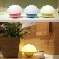 LED Mushroom Lamp LED Touch Light Pat Star Master Light USB Battery Power Baby Bedroom Lighting