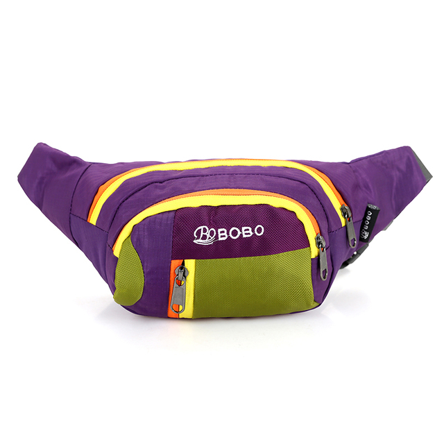 2017 nueva Bolsa de Dinero de la Bolsa Crossbody Hombro de la Manera Bolso de Las Mujeres Utilidad Bolsillos de Ocio Paquetes de La Cintura de nylon Resistente Al Agua
