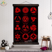 Cool Blood Wheel Eye NARUTO Modern Son Goku Wall Art Print Pop Picture And Poster Frame Hanging Scroll Canvas Painting