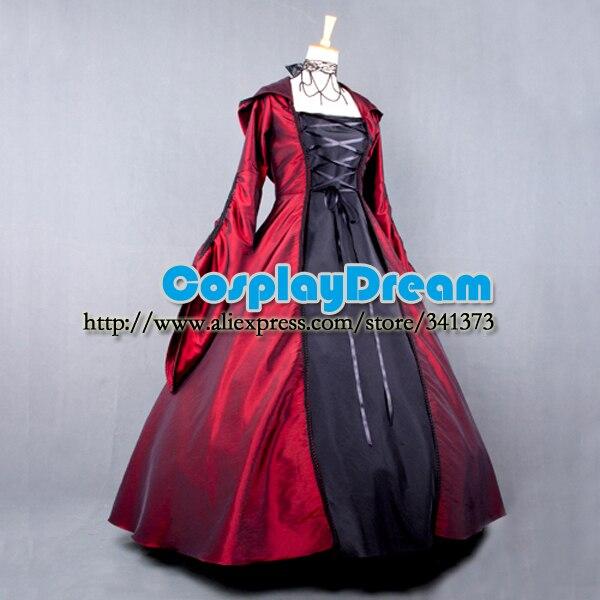 Custom made Elegant ROCOCO Punk gothic victorian style gown prom dresses  ball lolita long dress evening dress Gothic costume on Aliexpress.com  cd67e5e46c95