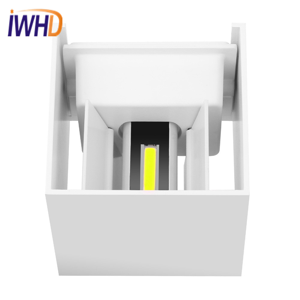 Modern LED Wall Lamp Fashion Waterfool Wall Sconce Lighting Fixtures Simple Indoor Outdoor Wall Light Lamparas Lamps Luminair