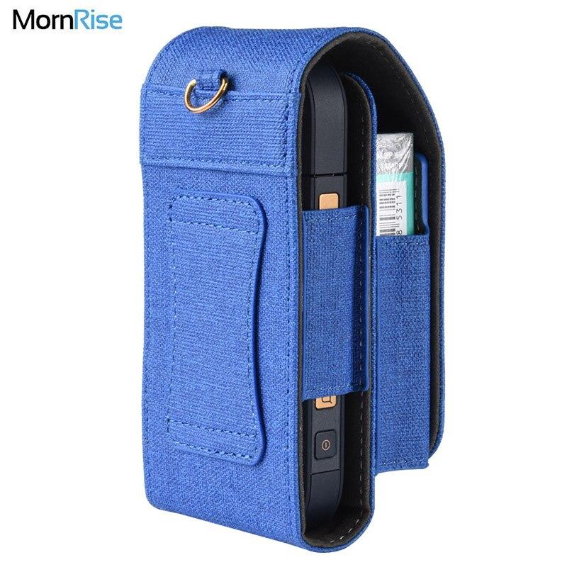 Cuir PU Portable de luxe pour IQOS 2.4 accessoires de cigarettes électroniques étui de transport personnalisé étui à cigarettes e-cigarettes sacs