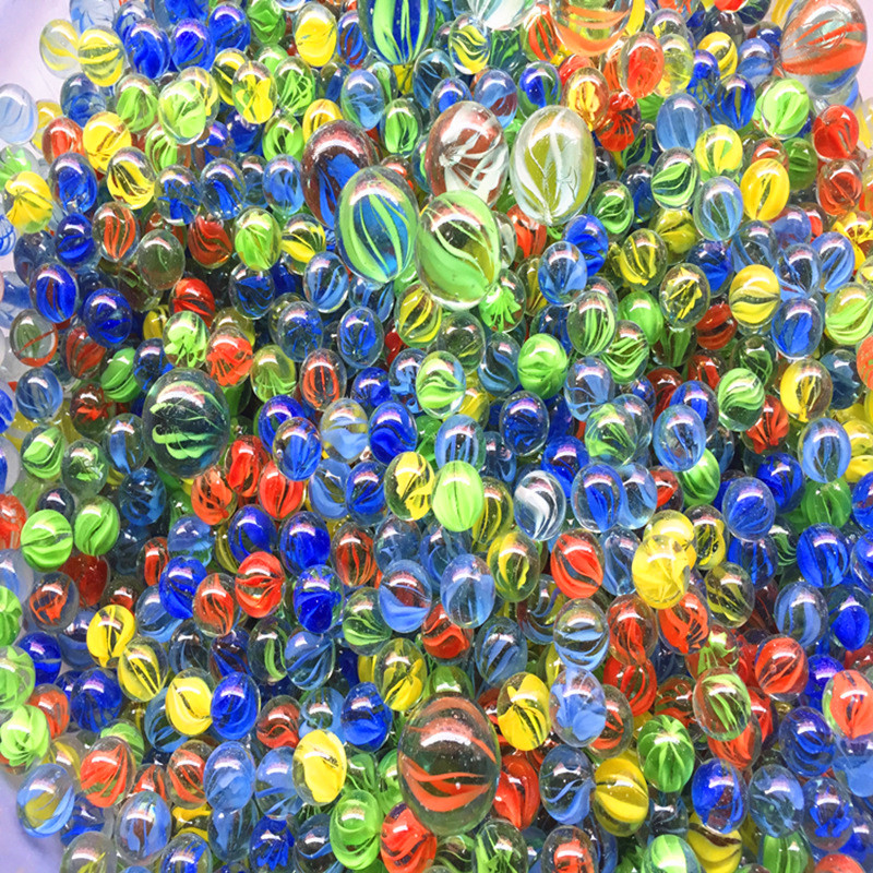 6500pcs dhl glass ball 14mm marbles classic home fish tank for Fish tank marbles