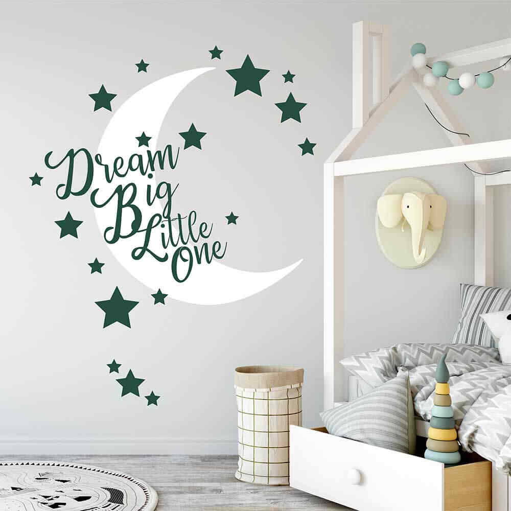 Removable Vinyl Baby Room Wall Stickers