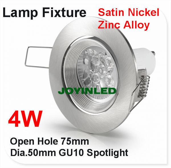 LED plafondlamp houder 4 W GU10 Verlichting plafond spot lamp ...