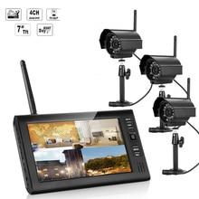 Wireless Security Camera System 3 IR Camera D house cameras