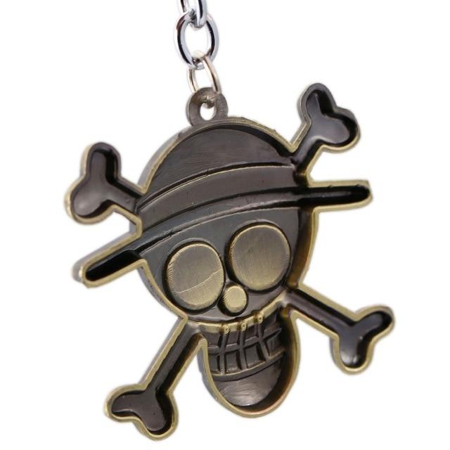 One Piece Luffy Key Rings
