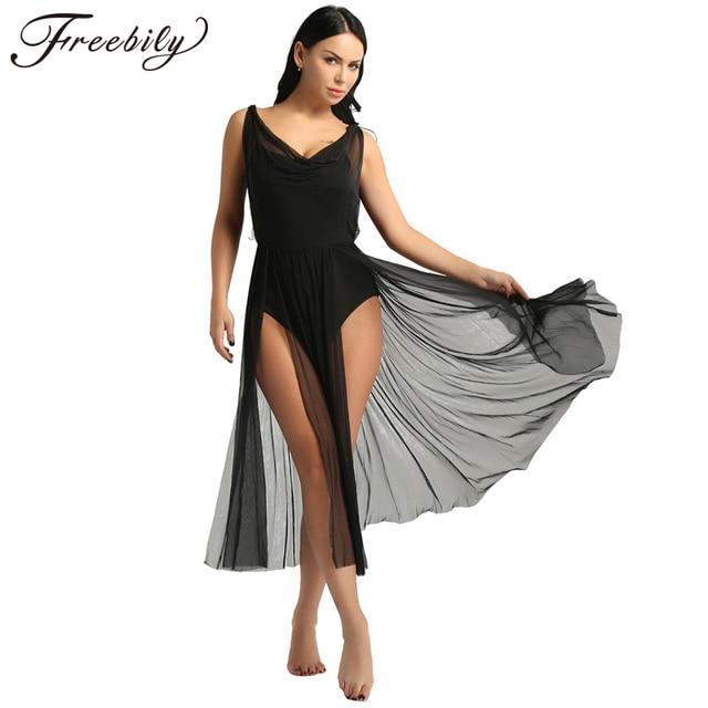 הכי חדש נשים למבוגרים בנות רשת בלט מחול בגד גוף למבוגרים לירי בפועל מחול מודרני תלבושות נבנה מדף חזיית בגד גוף