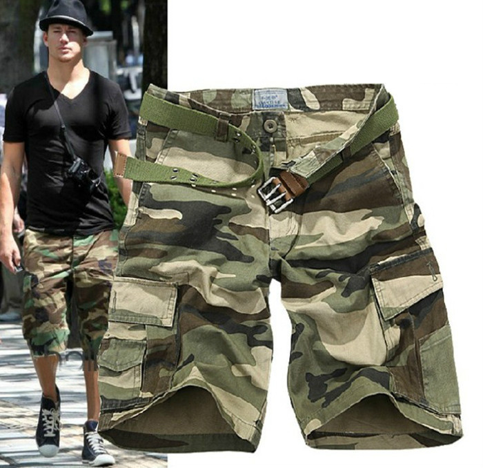 Casual Camouflage Military Short Pants for Men Combat Cargo Camo Army Shorts-in  Casual Shorts from Men s Clothing on Aliexpress.com  ec4e47126df