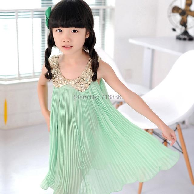 Eleven Story baby Girls summer princess tutu dresses, dance/party/wedding wear  1ES12DS-98R, retail pink/green