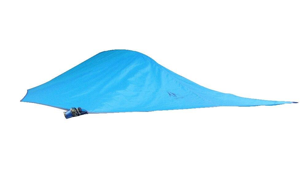 Подвесная палатка, треугольный подвесной тент, палатка с гамаком, двухслойная, водонепроницаемая