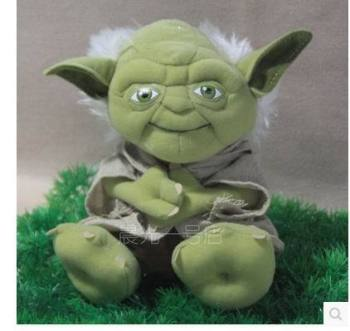 цены Free Shipping new fathion  plush toy Yoda Soft Stuffed Plush Doll Toy 20cm ,best gift for children ,friend.