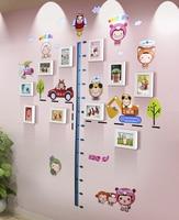 Bambini regali di Giorno del mare e aria moderno e minimalista combinazione creativa di telaio in legno muro foto delle camere dei bambini 's parete