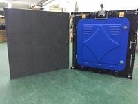 28pcs P6 outdoor full color,SMD 1/8 scan,576X576mm die casting aluminium cabinet,