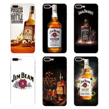 For Xiaomi Mi6 Mi 6 A1 Max Mix 2 5X 6X Redmi Note 5 5A 4X 4A A4 4 3 Plus Pro drinking Jim Beam Wine art Poster Soft Cases Covers(China)