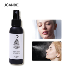 UCANBE Brand Dewy Finish Setting Spray Makeup Mist Lasting Face Make Up Foundation Protection Oil-control Base Cosmetics Fixer