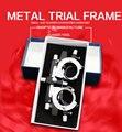 O envio gratuito de metal quadro julgamento, Óculos quadro julgamento baixo preço de boa qualidade óculos accessoires