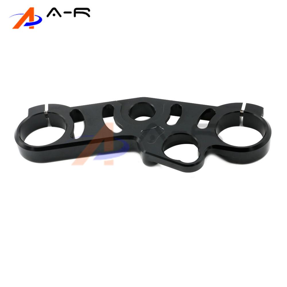 Motorcycle CNC Aluminum Lowering Triple Tree Front End Upper Top Clamp for Suzuki GSX-R 600/750 2006-2009 GSXR 1000 2007-2008
