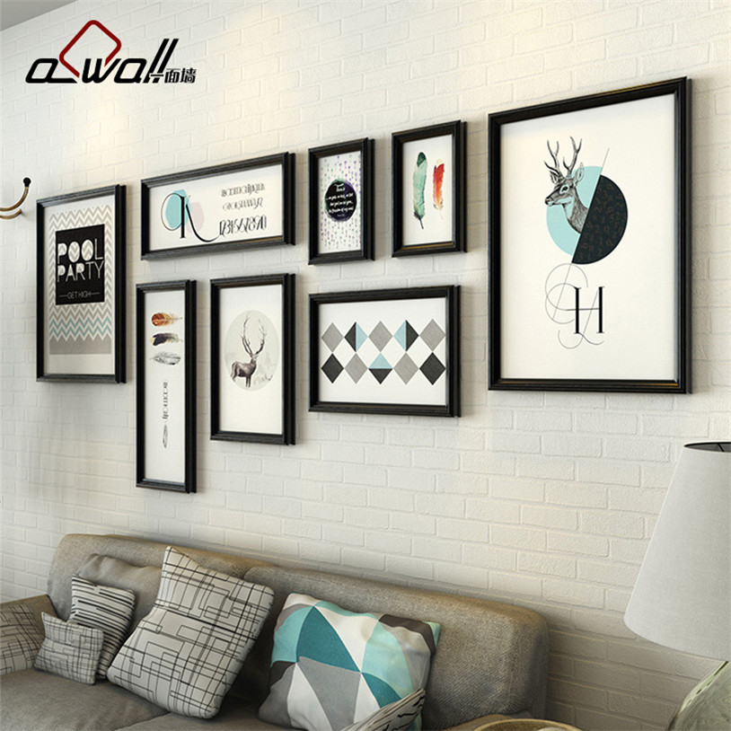 Acrylic Photo Frame Plastic Picture Frames For Sofa Wall