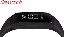 Smartch V07 Смарт Браслет Приборы для измерения артериального давления сердечного ритма Мониторы часы Фитнес трекер Шагомер Bluetooth 4.0 wristb