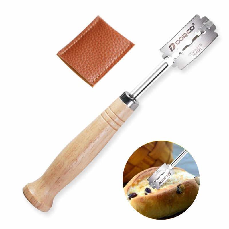 Cesto ovale fatto a mano in Rattan SHENHONG e coltello curvo ad arco per pane pasta Banneton Brotform pane a prova di fermentazione